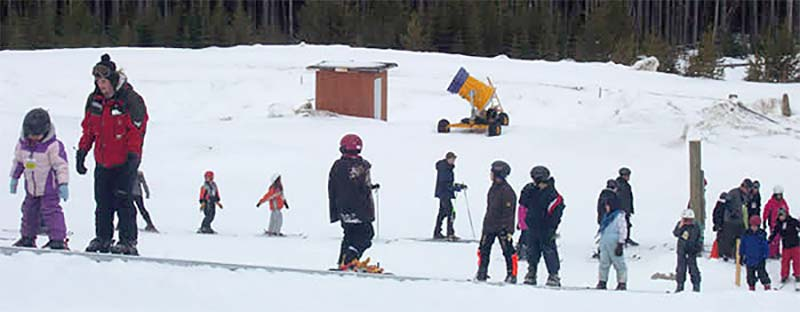 snow school lessons
